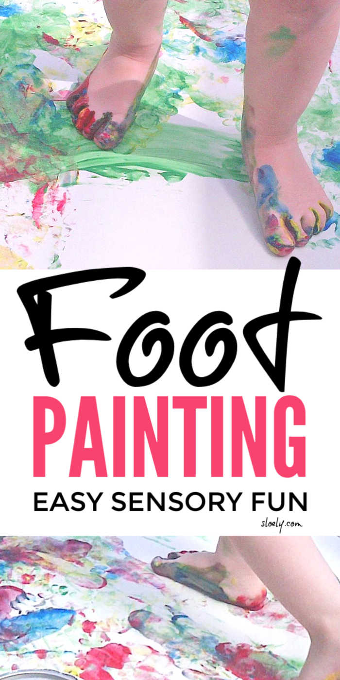 Feet Painting For Kids