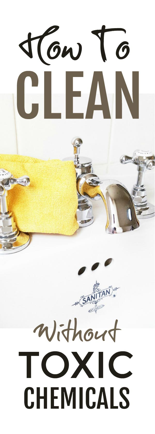 Clean easily without toxic chemicals with this one simple tip #chemicalfree #cleaning #natural