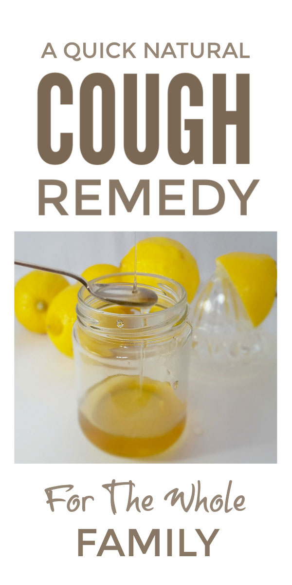 Natural DIY cough syrup recipe - this homemade cough remedy is good for kids and adults and can help with tickly, dry and chesty coughs and can be taken at nighttime #coughremedy #coughsyrup #naturalremedy #coughs