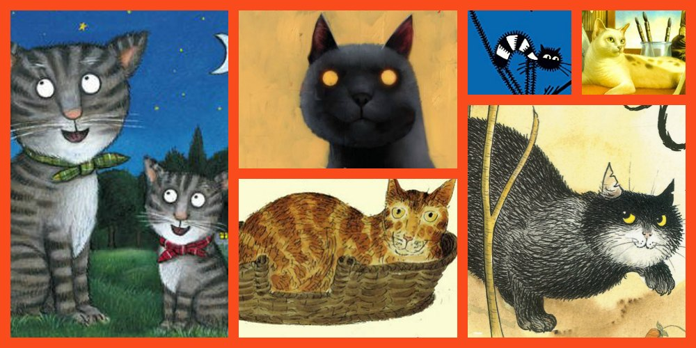 Cat books for kids - brilliant children's stories about cats for kids of all ages