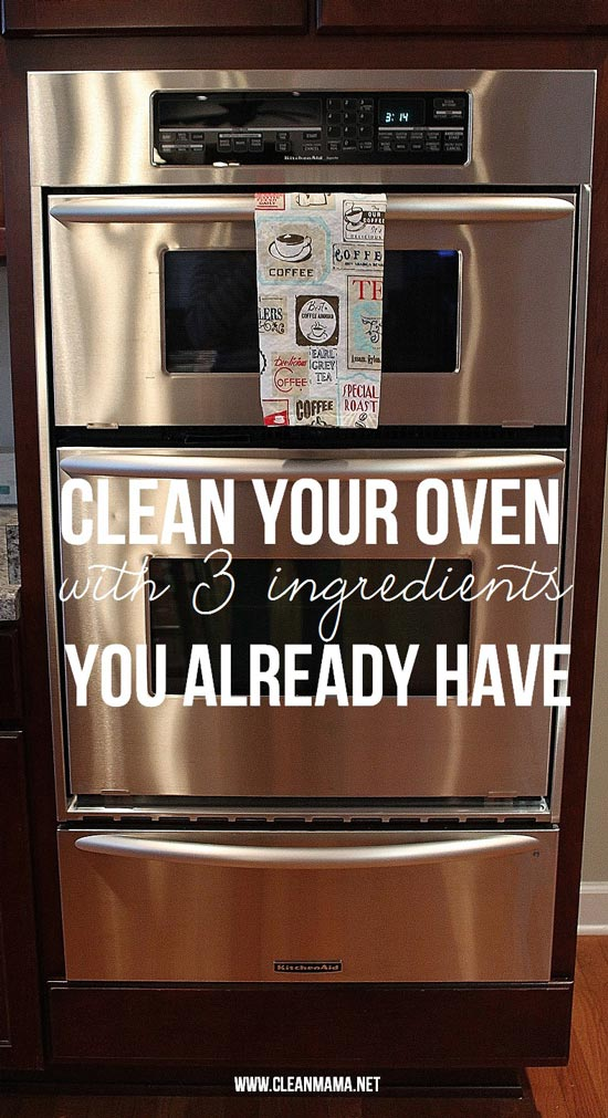 Natural oven cleaner by Clean Mama