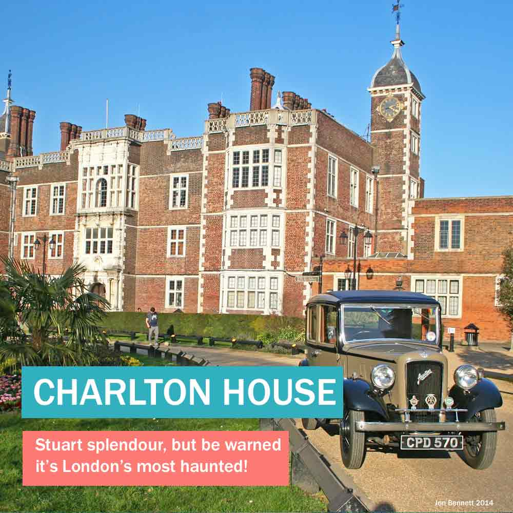 Charlton House - stunning Jacobean mansion, London's most haunted historic house