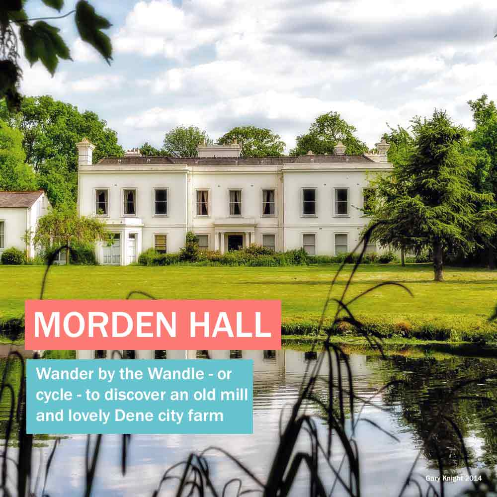 Morden Hall - lovely National Trust park by the river Wandle in south London