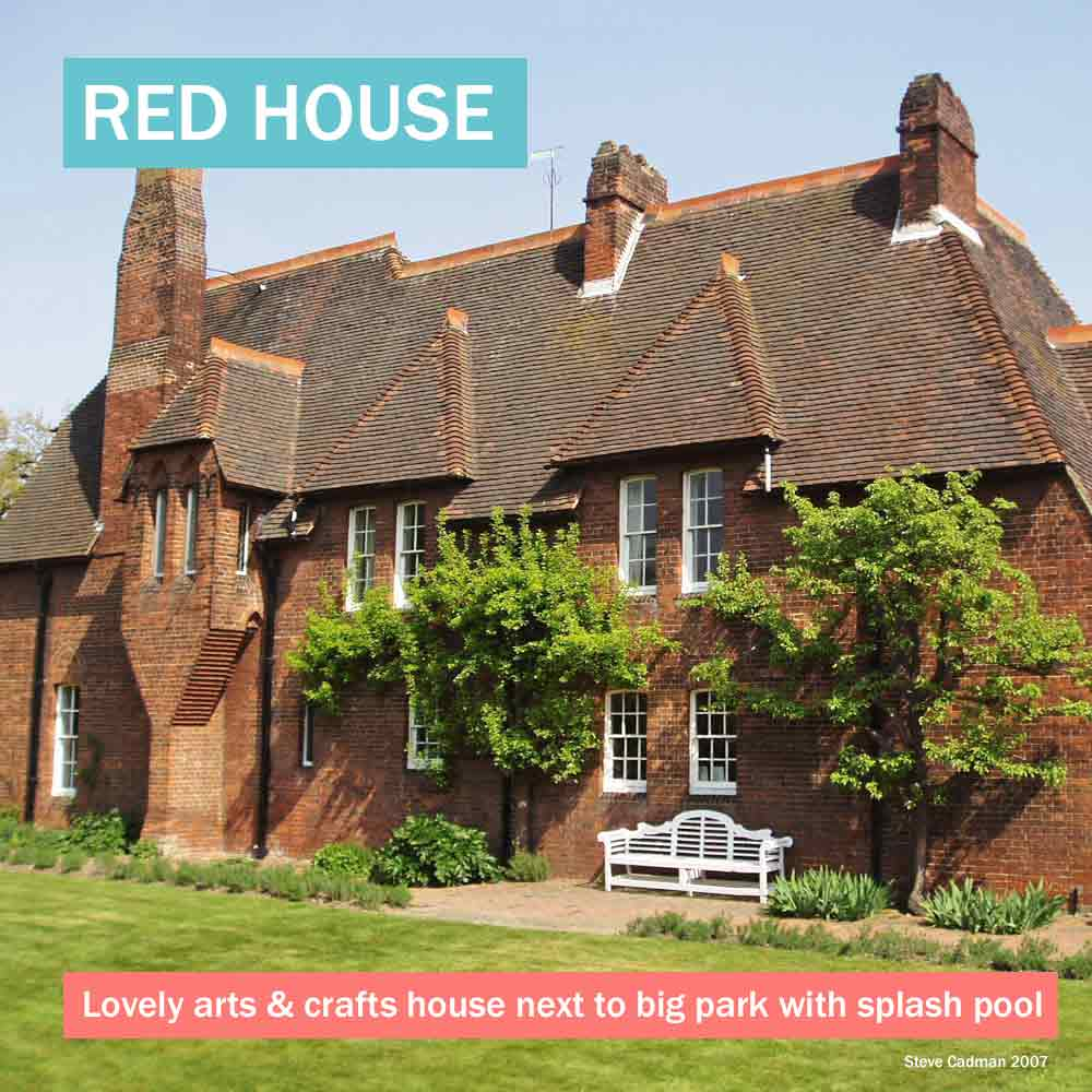 Red House - lovely arts & craft historic house in south London