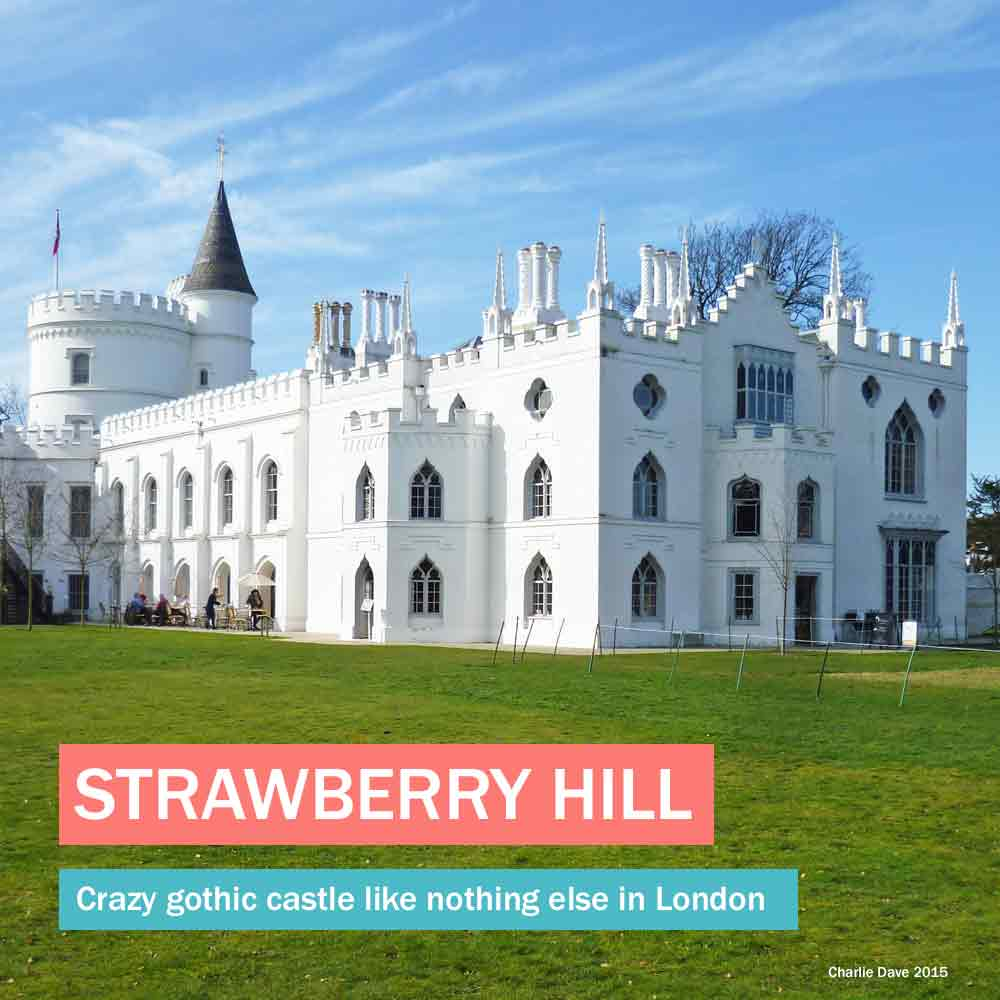 Strawberry Hill - a crazy gothic castle like no other historic house in London