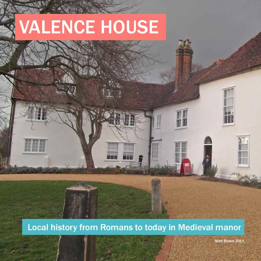 Valence House - historic medieval manor house with local history museum