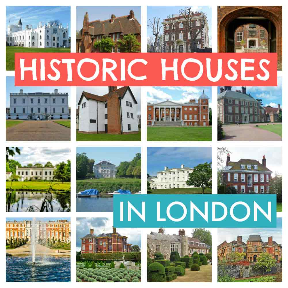 London historic houses with gorgeous grounds that perfect for family day out