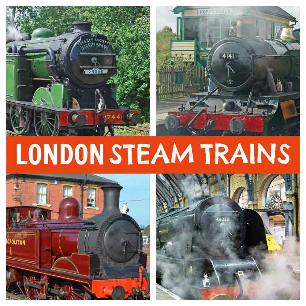 London Steam Trains