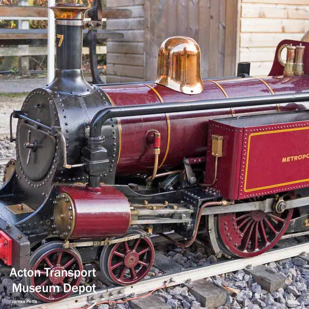 London steam trains - Acton Depot
