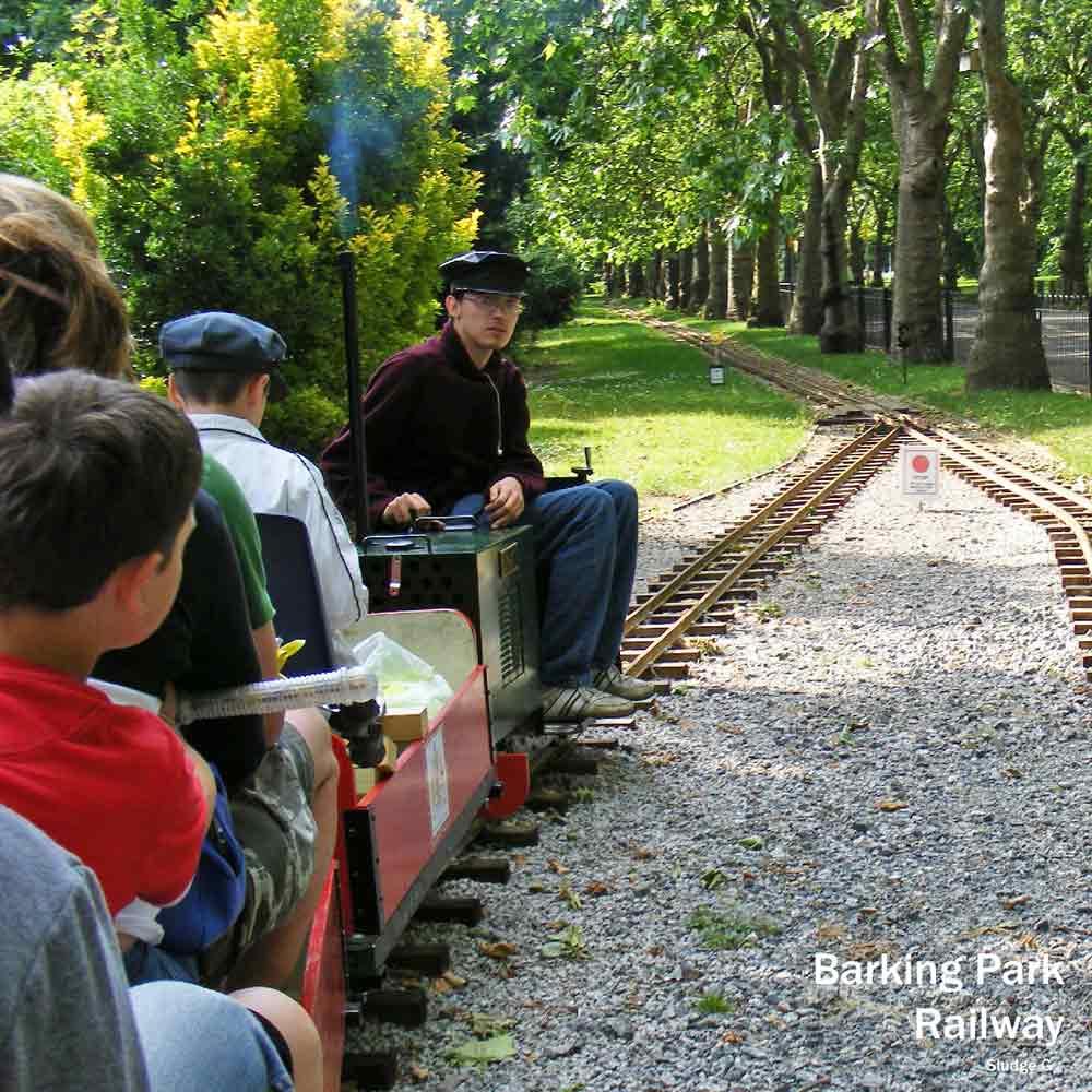 London steam trains - Barking Park Railway