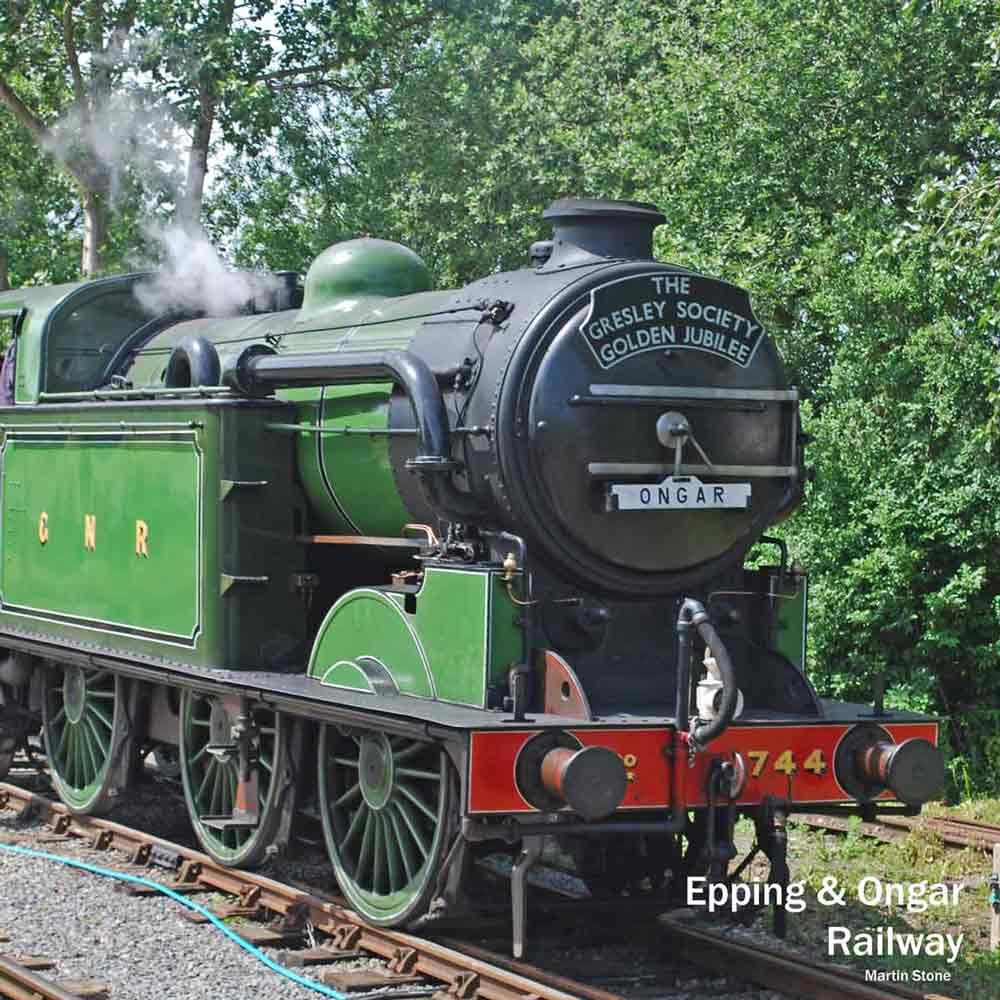 London steam trains - Epping & Ongar Railway