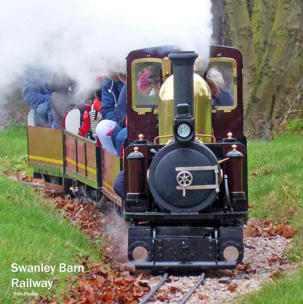 London steam trains - Swanley barn railway
