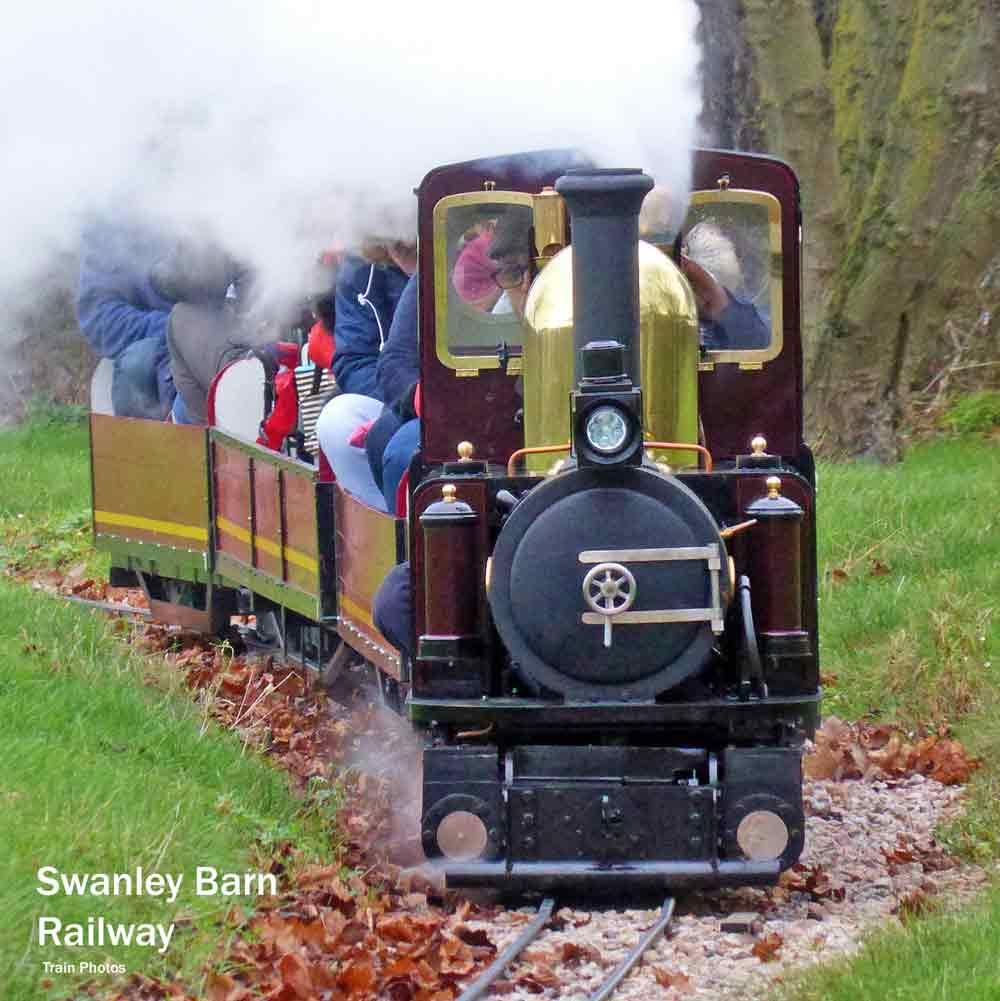 London steam trains - Swanley barn railway
