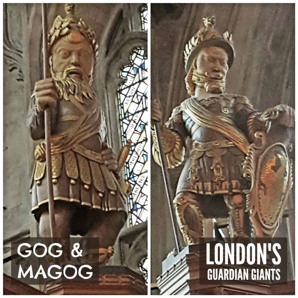 Gog and Magog - London's guardian giants