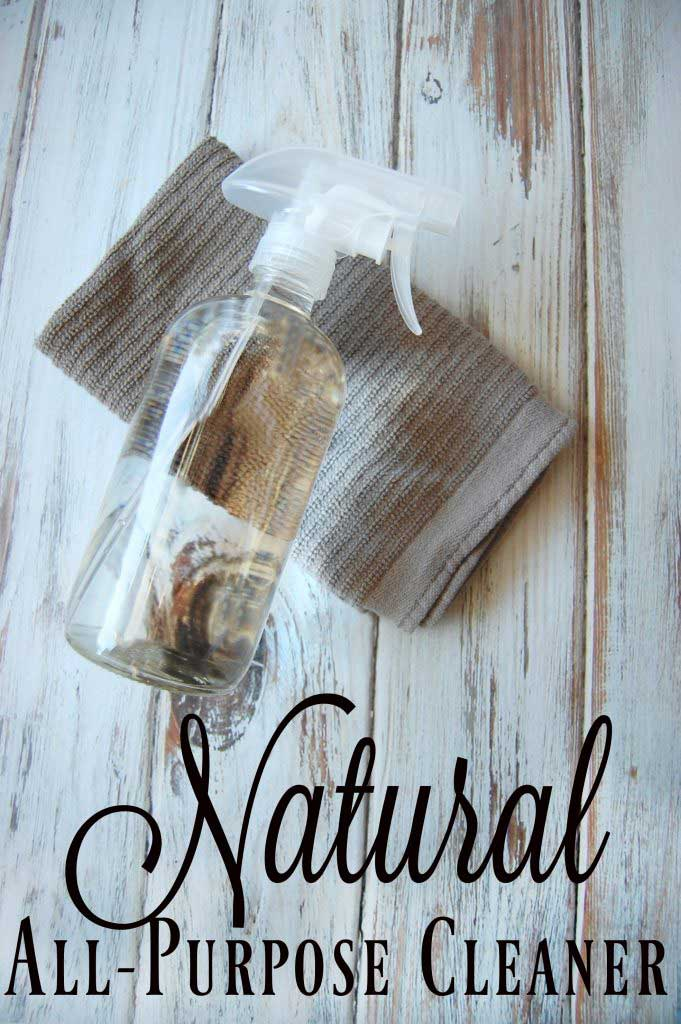 Easiest ever natural all purpose cleaning spray from The Pistachio Project