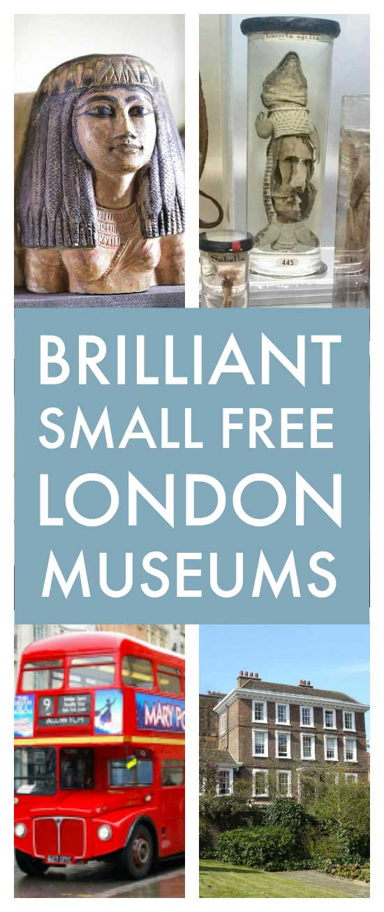 Small free London museums - brilliant small free London museums that you've probably never heard