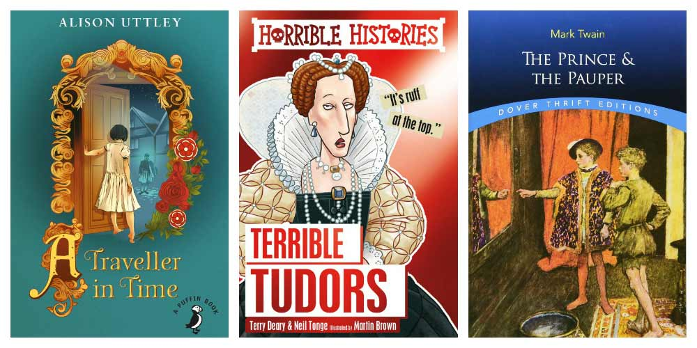 Kids books about Tudors