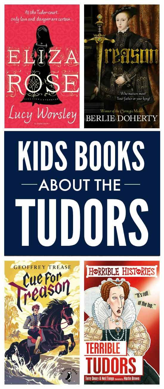 Kids books about the Tudors