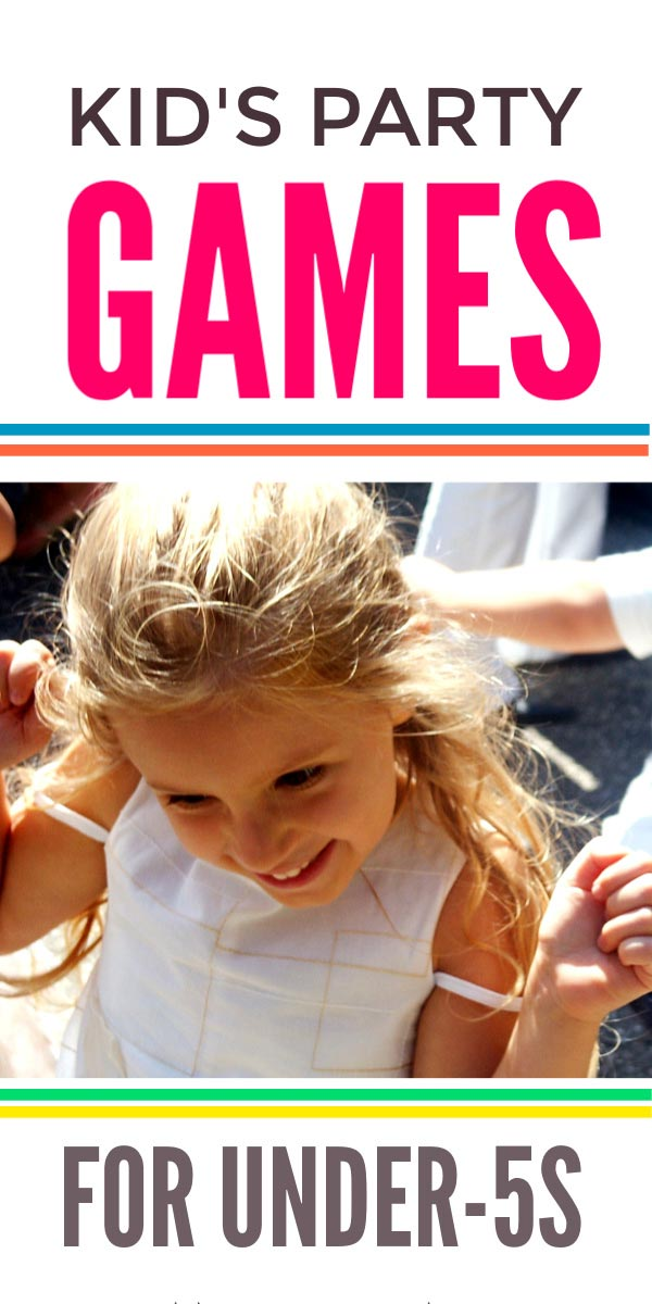 Traditional kids party games for under 5s that toddlers can join in with but are still fun for children aged 7 and over. Great for girls and boys. #kidsparties #birthdayparty #partygames #birthday #party #parties