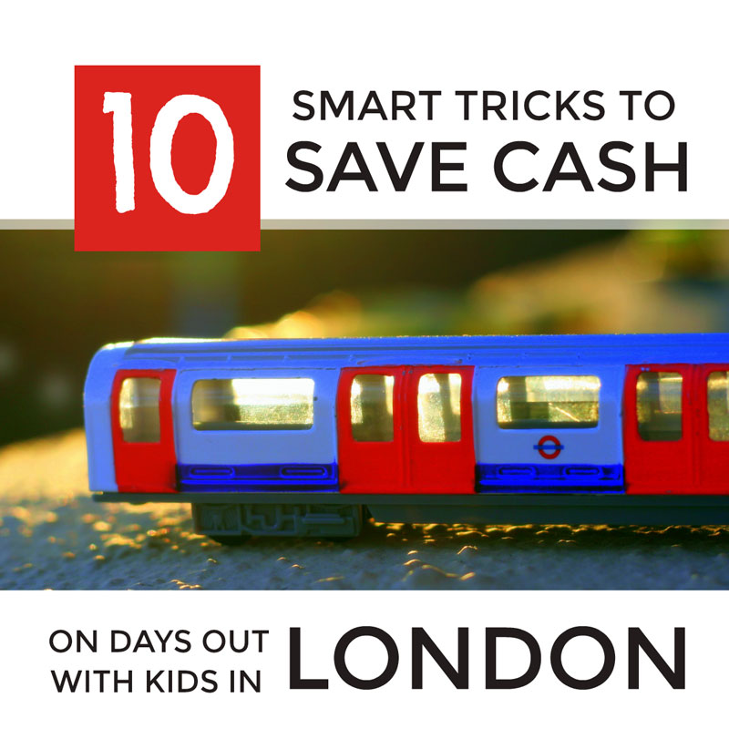 Save money on days out in London with kids