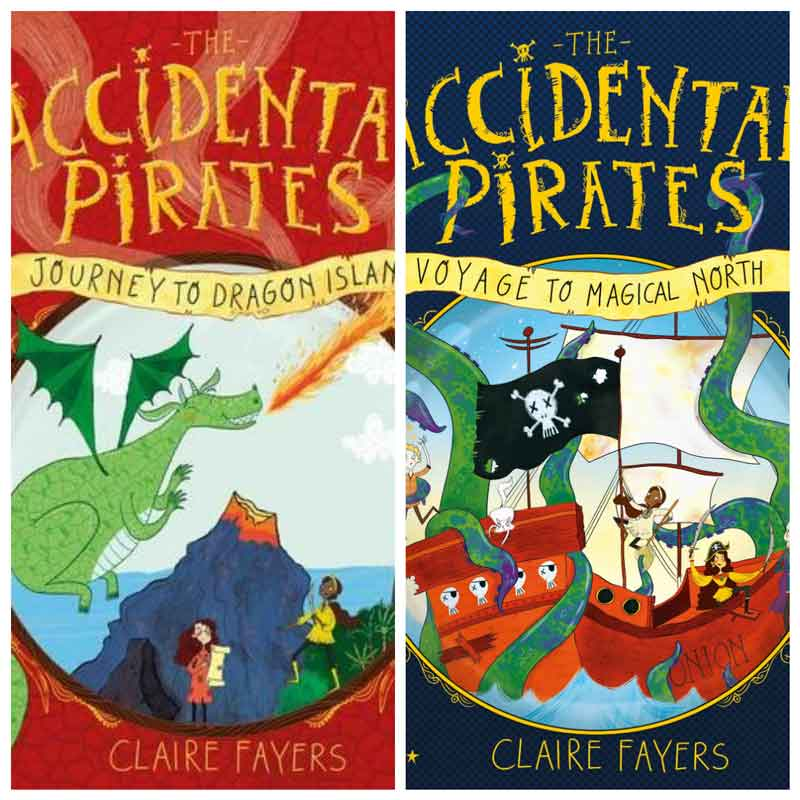 Summer book series for kids - Accidental Pirates