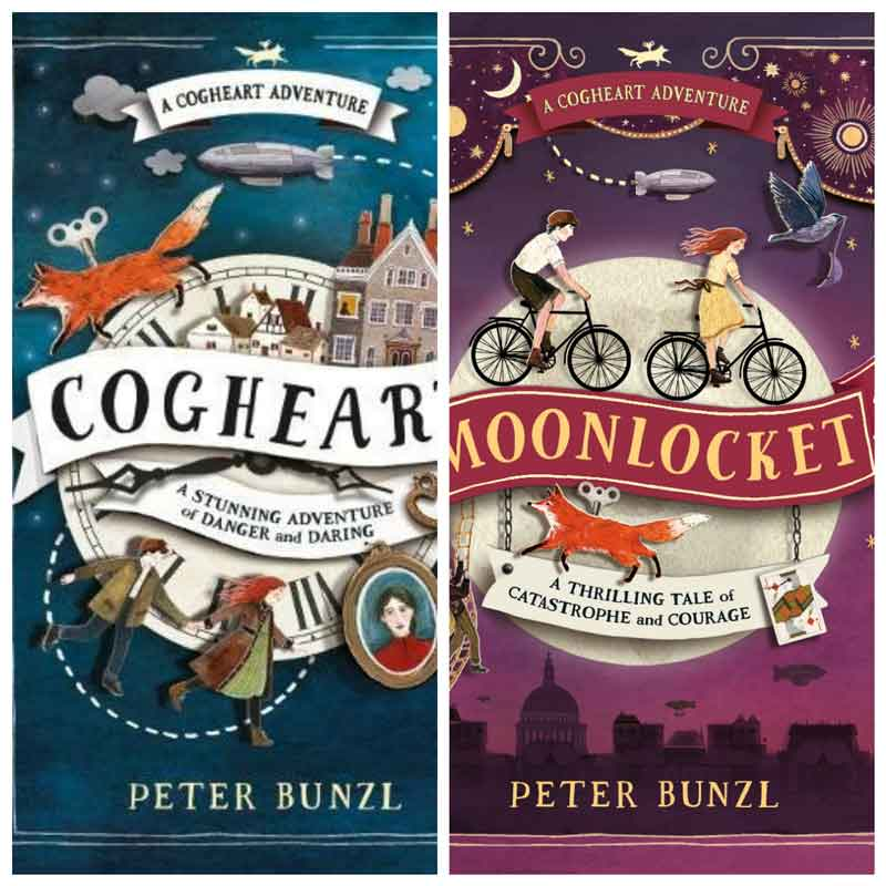 Summer book series for kids - Cogheart