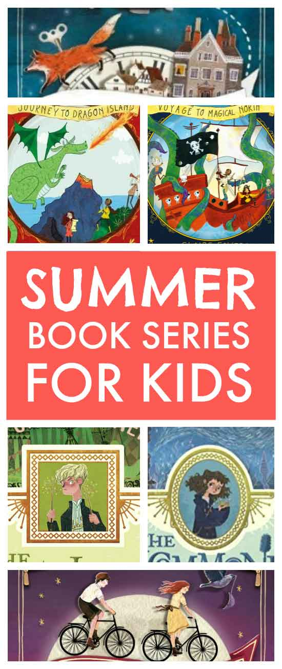 Summer book series for kids