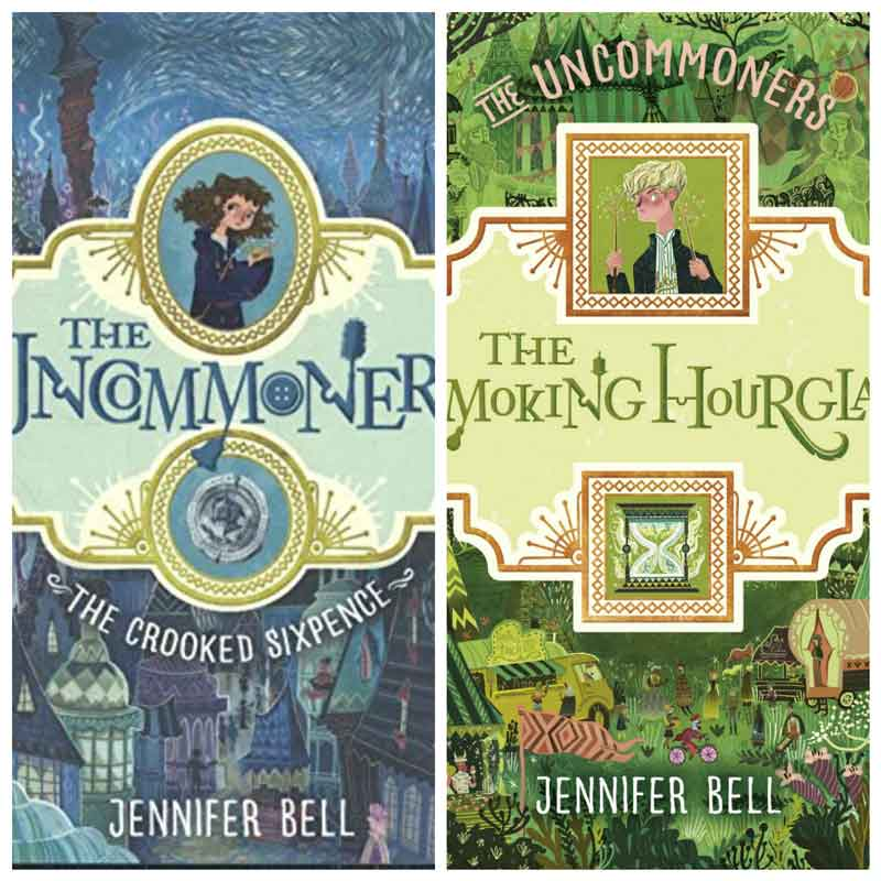 Summer book series for kids - The Uncommoners