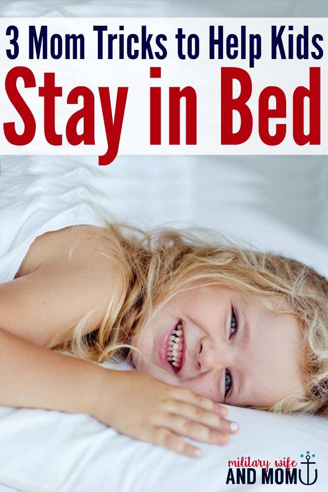 Help kids sleep