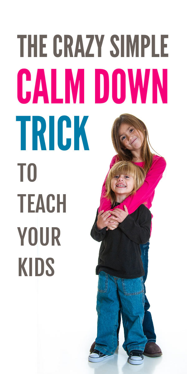 A simple fun idea to help children calm down that works. And teaches kids a lifelong coping skill for managing tantrums, anxiety and anger. A must read parenting tip #parenting #calmdown #anxiety #tantrums