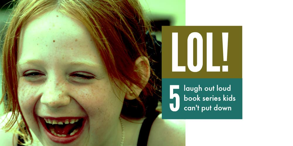 Funny books for kids - 5 laugh out loud book series kids cannot put down #kidsbooks #kidslit