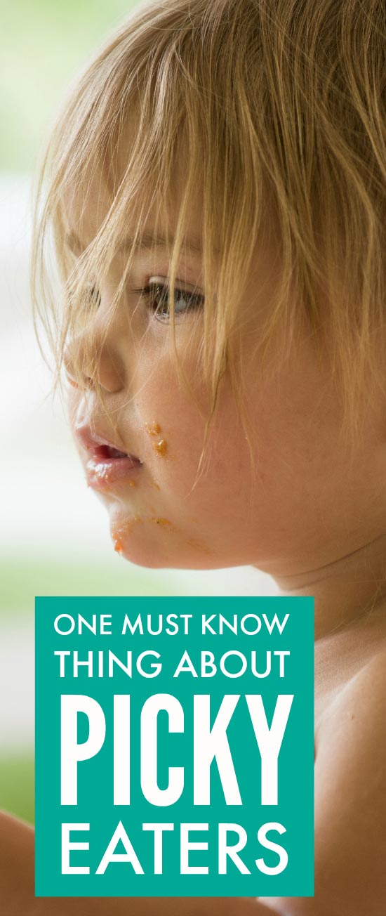 One must know tip for parents of picky eaters