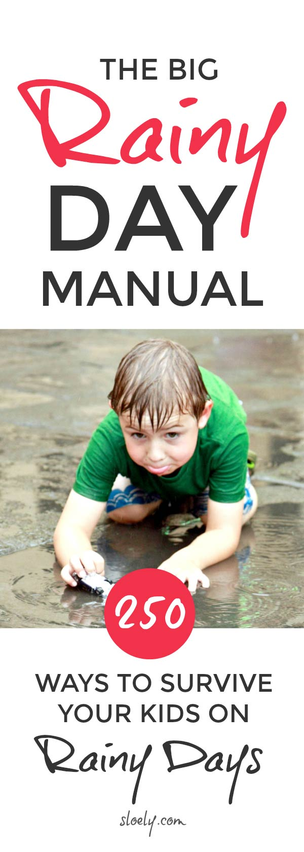 Rainy day activities for kids - a big list of things to do on a rainy day for boys and girls from toddlers and preschoolers to older teens. There's easy DIY fun scavenger hunts, crafts, games, projects, baking, art and science. Including cheap no mess ideas great for indoors and outdoors to burn off energy. Never be stuck by the nightmare parenting question of what to do on a rainy day again. #rainydays #rainydayactivities #kidsactivities #indooractivities #indoorgames #kidsgames #kidscrafts #raindayideas