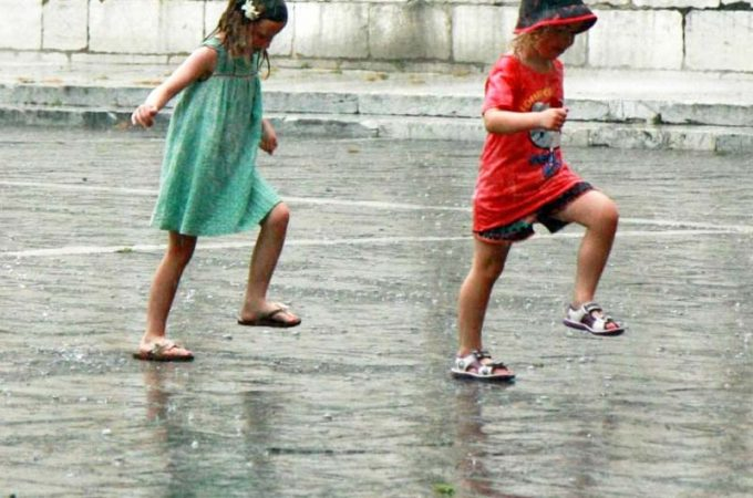 Rainy day London with kids