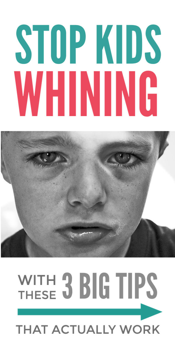 Stop kids whining - these simple positive parenting tips provide families with effective techniques to help children stop whining whether toddlers and preschoolers or teenagers. The article includes 3 simple activities that build children's independence and are a long term solution to raising grateful and thankful kids who don't whine! #whining #positiveparenting #parentingtips #parentingsolutions #kids #independence #gratitude #teens #preschoolers