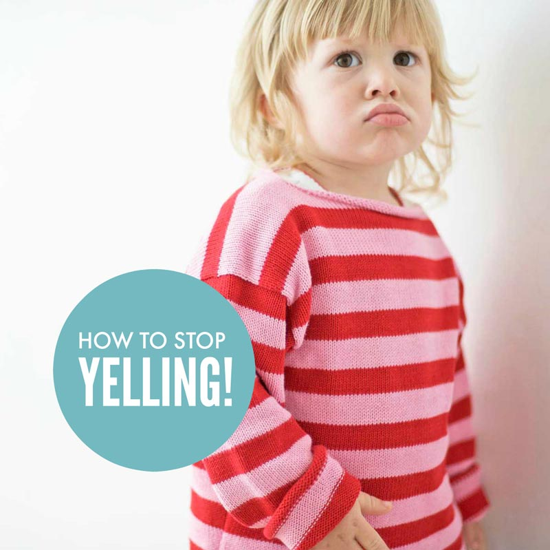 How to stop yelling at our kids
