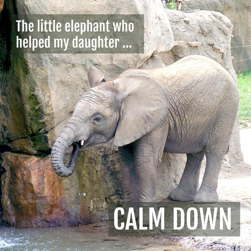 Helping kids discover the power of calming down