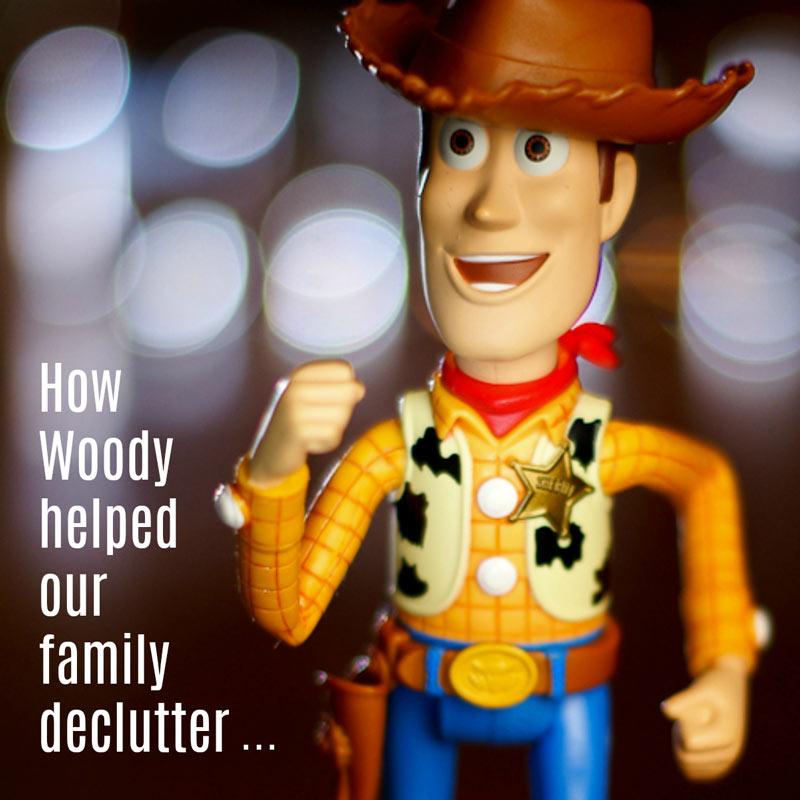 How Woody helped us declutter
