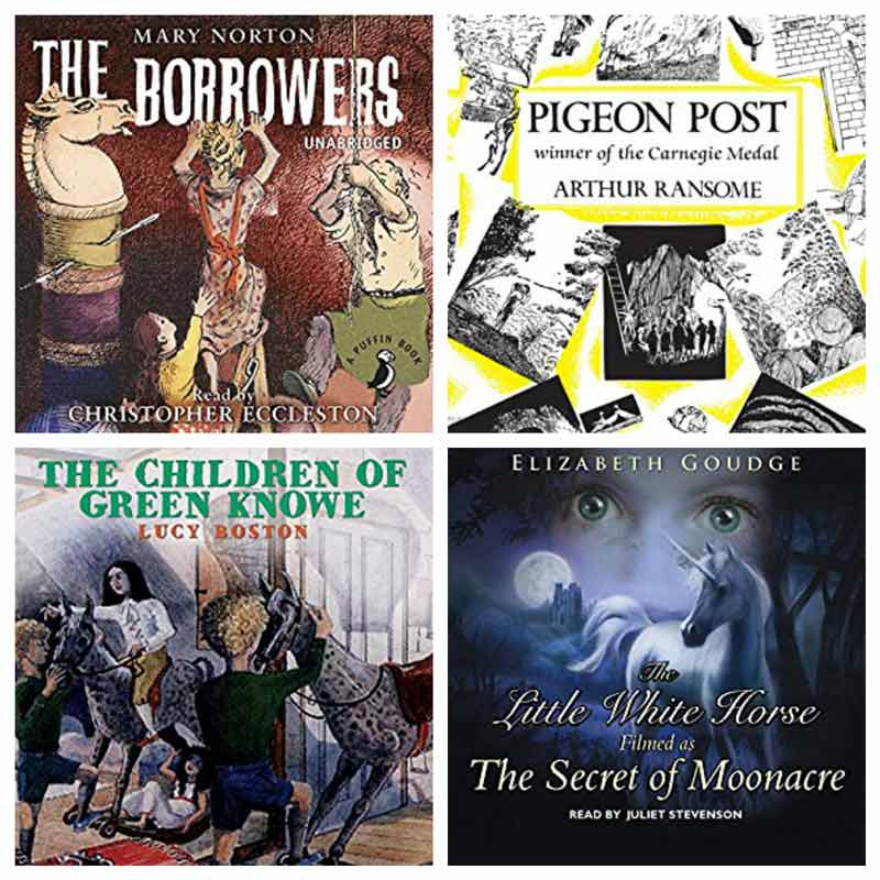 Classic audio books for kids that that the whole family will enjoy listening to together