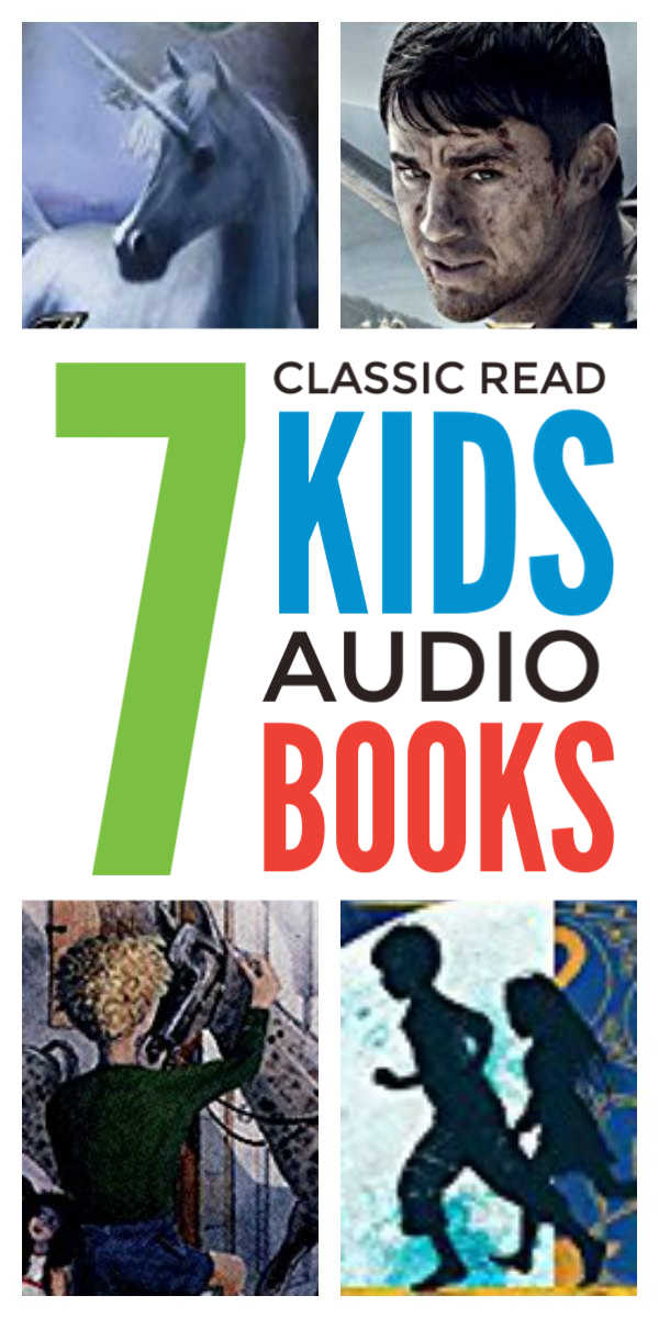 Classic audio books for kids that that the whole family will enjoy listening to together #kidsbooks #audiobooks