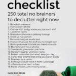 No Regrets Declutter Checklist
