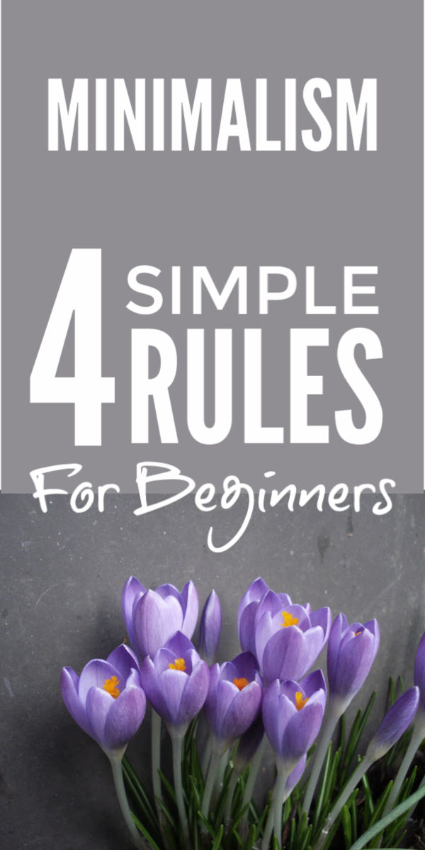 Simple tips for minimalist living and a minimalist lifestyle that will simplify your ideas and help you embrace a simple living mindset to let go of clutter throughout your home and escape the cycle of splurge and declutter #minimalism #minimalist #simpleliving #simplify #declutter #clutterfree #livewithless