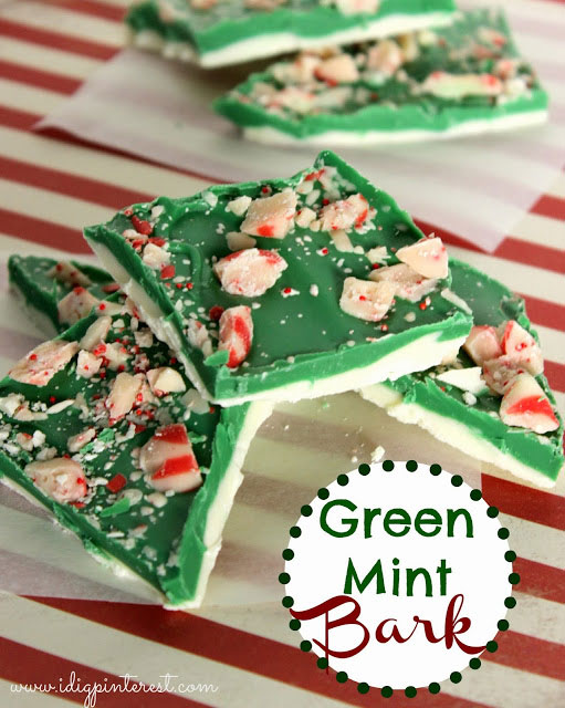 Christmas peppermint recipes - peppermint bark #peppermint