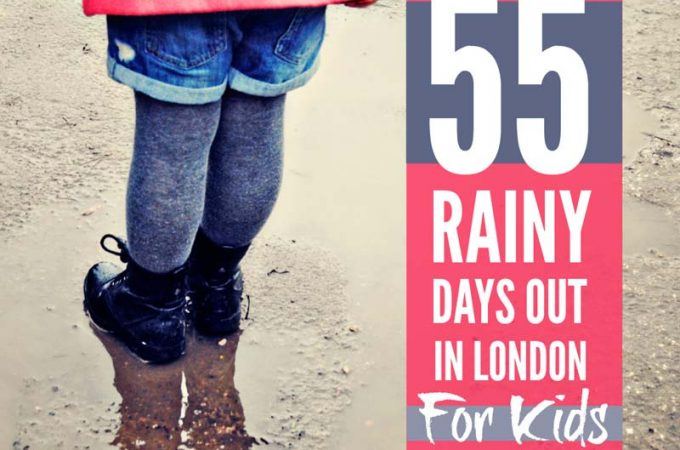 Rainy days out in London with kids