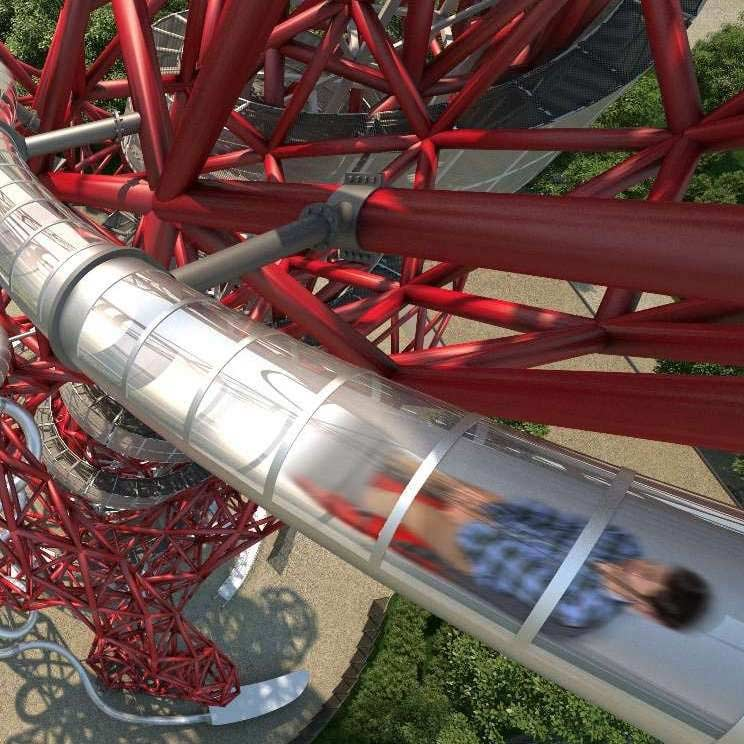 Family ticket London Orbit Slide