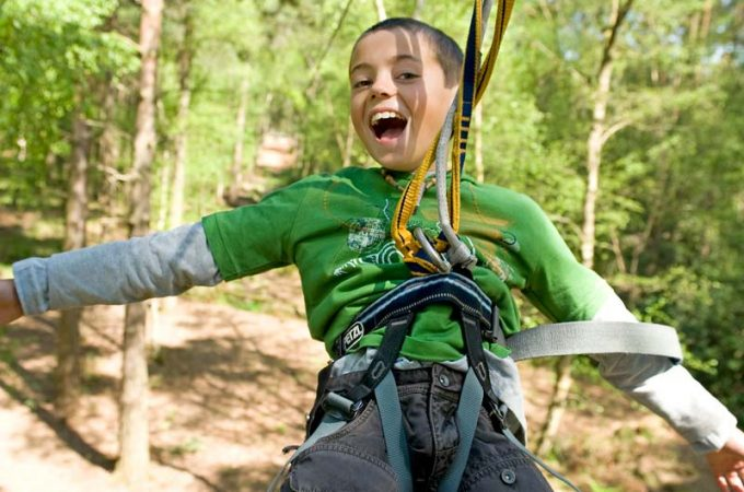 Go Ape London - zip trekking in London