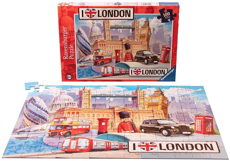 London jigsaw for kids