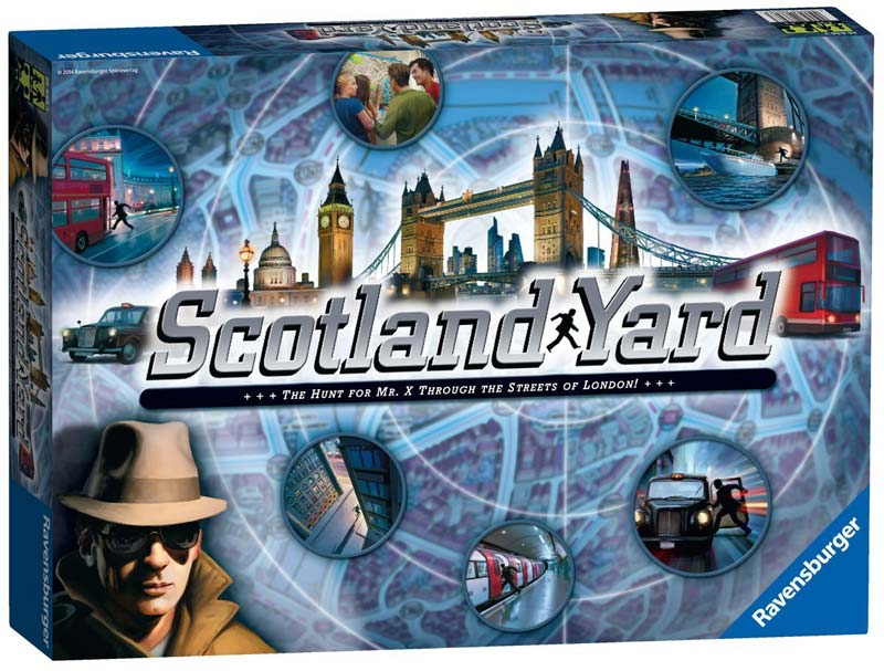 London family games and puzzles - Scotland Yard