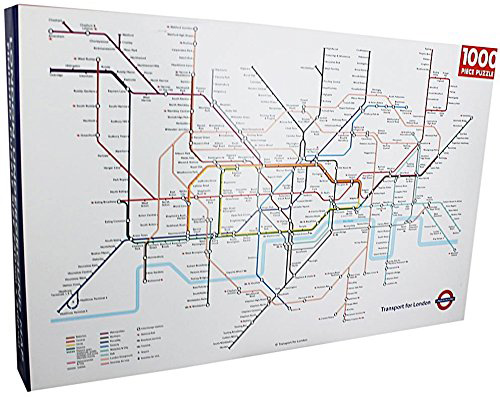 London family jigsaw - tube map