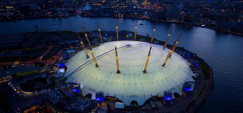 Gifts for London kids - treat them to a starlight climb over the O2!! How cool is that?
